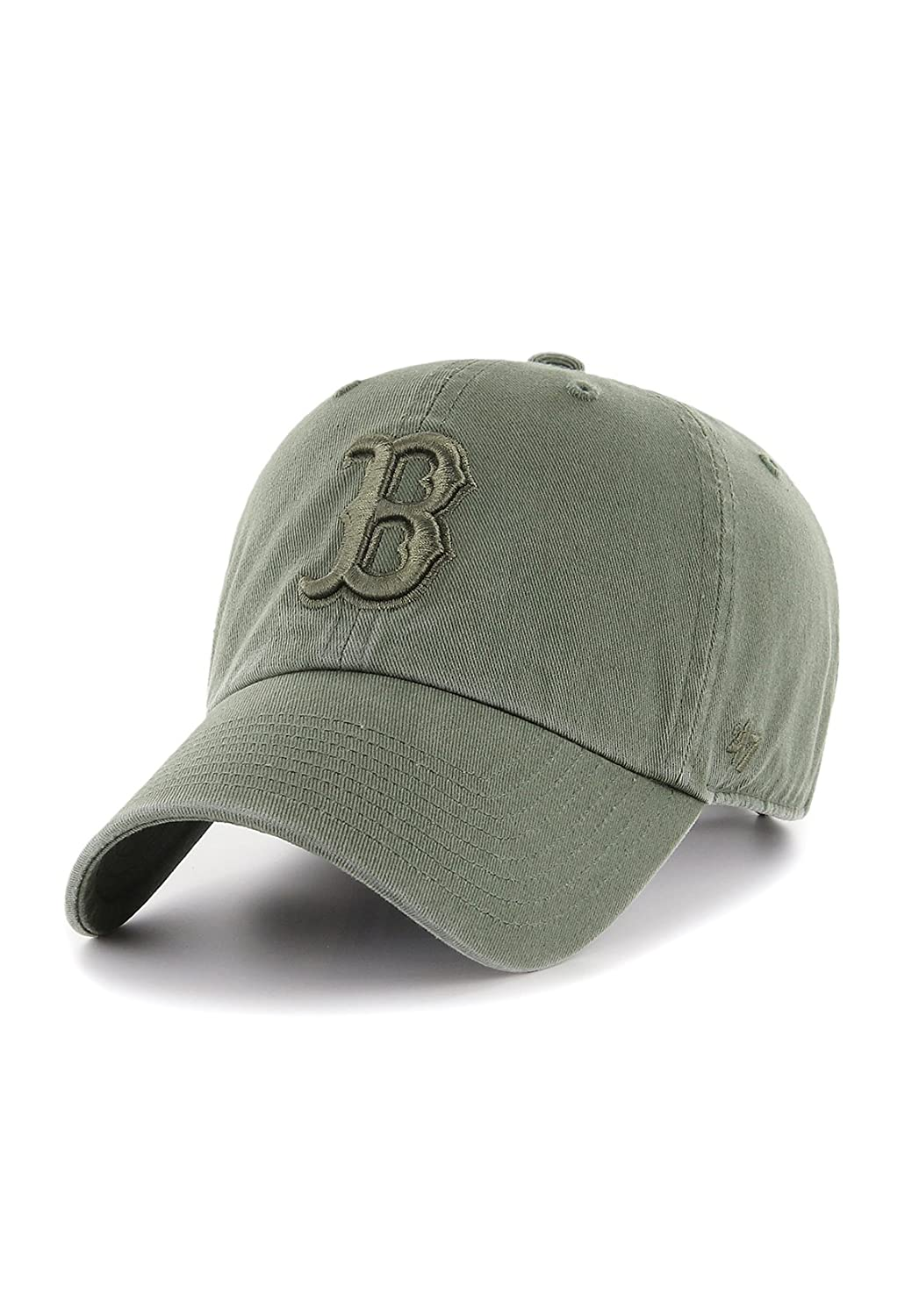 Gorra de béisbol Clean Up Boston Red Sox de 47 Brand - Verde Oscuro -  Ajustable  Amazon.es  Ropa y accesorios 92104d977fc