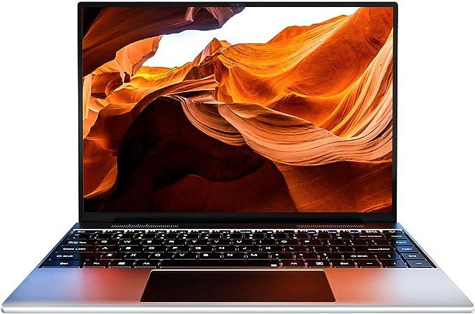 KUU YOBOOK Ordenador Portátil 13.5, Pantalla 3K FHD, Notebook Inter Pentium J3710, 4GB RAM DDR3 128GB SSD, Windows 10 Laptop con desbloqueo de ...