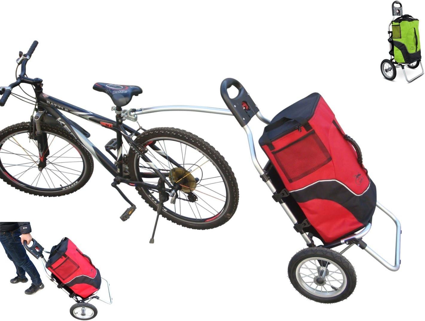 POLIRONESHOP GEKO Chariot Remorque de vélo Poussette Chariot de ...