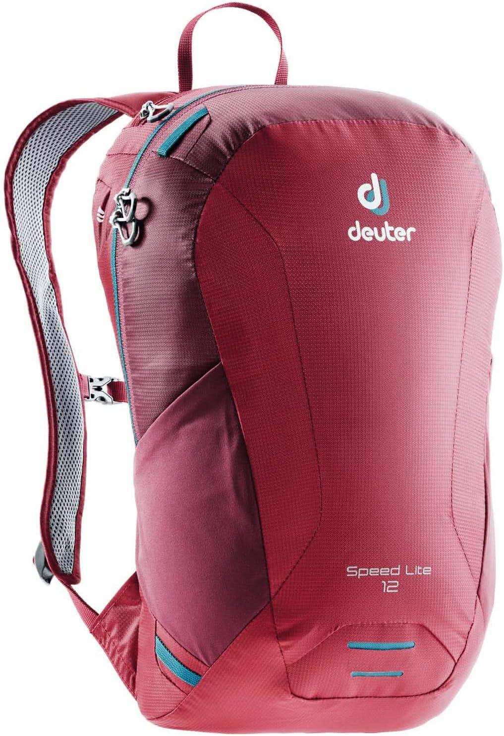 12 /& 16 Liter Capacity Deuter Speed Lite Hiking Daypack with Detachable Waistbelt