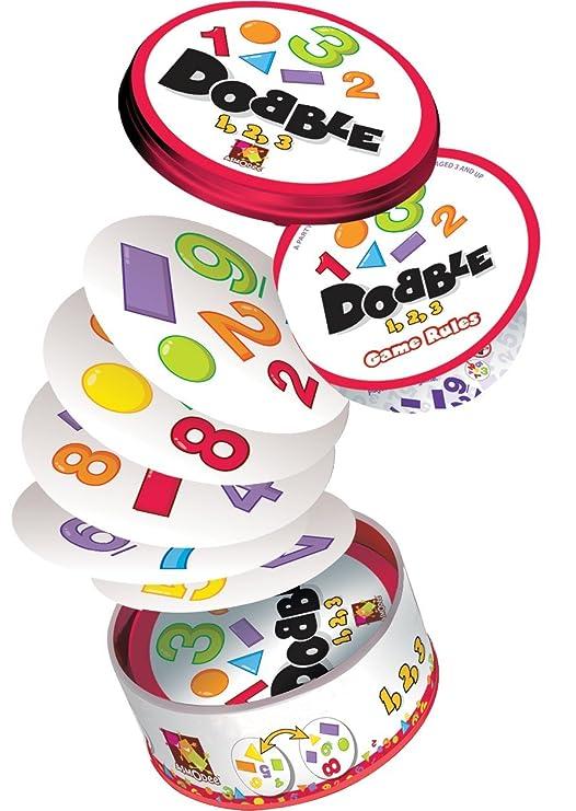 Amazon.com: Dobble 123 Game: Toys & Games