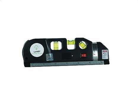 Lucesì livella laser tripla level pro 3 in 1 con illuminazione