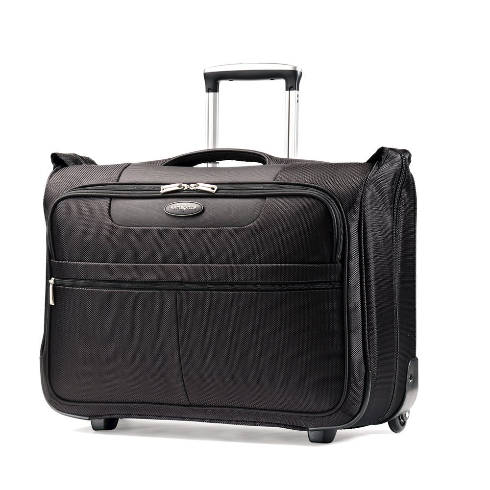 Samsonite Luggage L.i.f.t. Carry-On Wheeled Garment Bag, Black, 21'' by Samsonite