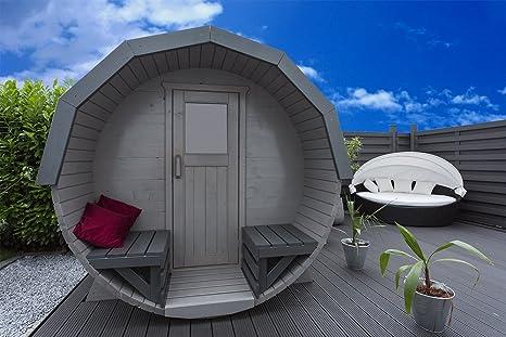 Hariva – sauna tipo barrilcon estufa ...