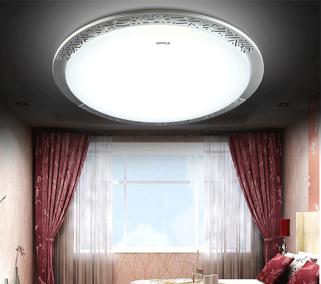 study led ceiling lamp modern minimalist circular acrylic home bedroom lighting dimmer