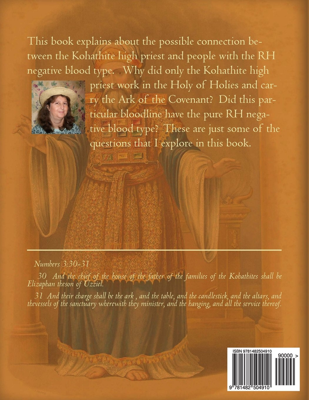The Levite Priest and The RH Negative Blood Type: Roberta