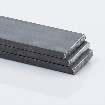 Flachstahl Bandstahl Flacheisen Stahl Eisen von 100 bis 3000mm 50x10 mm