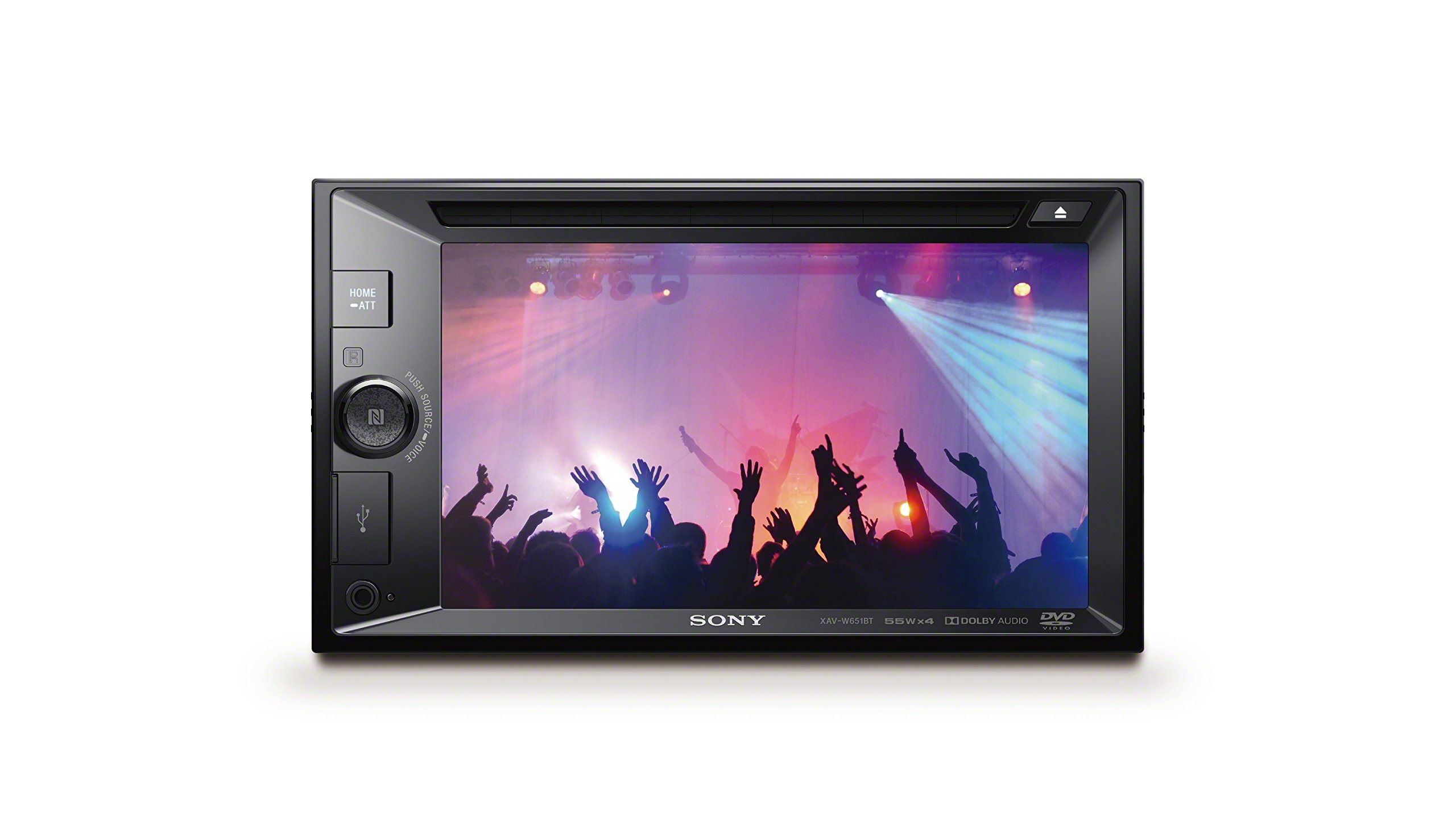 Sony XAV-W651BT 6.2 Inch LCD DVD Receiver by Sony (Image #1)
