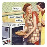 Anne Taintor Square Refrigerator Magnet - Funny I