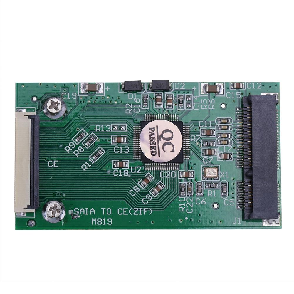 Amazingdeal365 1pc Mini SATA mSATA PCI-E IPOD SSD a 40pin 1.8 ...