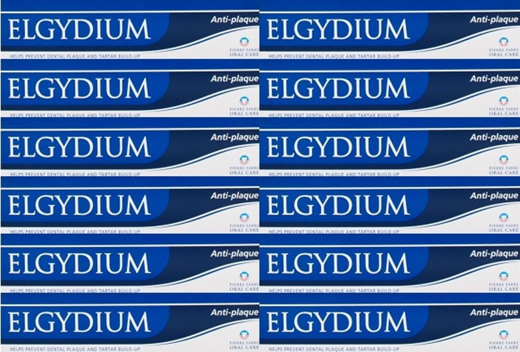 Elgydium Anti Plaque Toothpaste 75Ml X 12 Packs