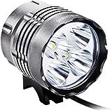 Sahara Sailor 5600 Lumens Bike Light T6 Cree LEDs Bicycle Cycling Lights Headlight Lamp W Rechargeable 4400 MAH Battery