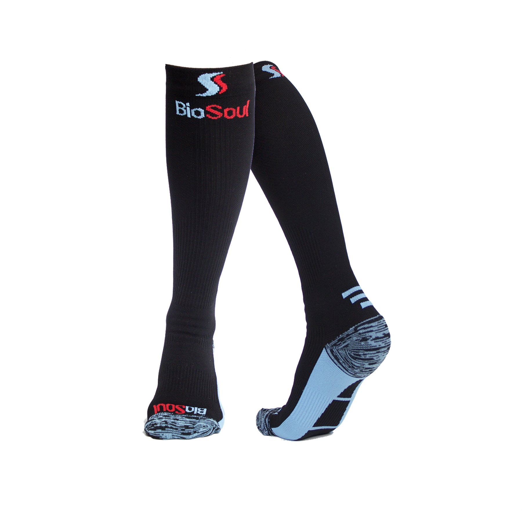 Compression Socks for Men, Women, Athletes, Nurses, Shin Splints, CrossFit, Hiking, Cycling, Flight Travel, Pregnancy, Recovery, Diabetics, Active/Inactive Lifestyle, Boost Stamina and Circulation