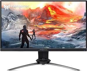 "Acer Predator XN253Q Pbmiprzx 24.5"" Full HD (1920 x 1080) TN 144Hz Gaming Monitor with NVIDIA G-SYNC (Display Port & HDMI Port),Black"