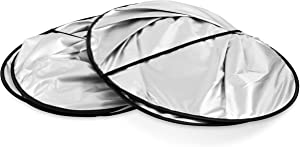 Camco 45150 Windshield Sun Shades - Protects Your RV from the Sun and Reduces Heat in Hot Weather - Compatible with Class A RVs