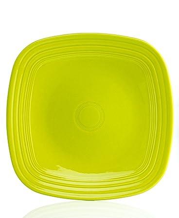 fiesta 1034inch square dinner plate scarlet