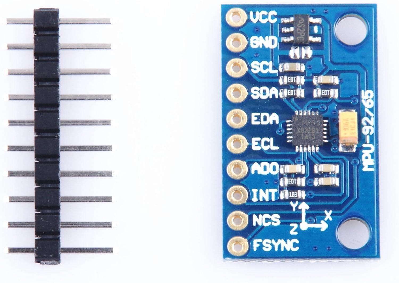Accelerometer 9dof IMU Mpu-9255 Compass Module # 3-axis Gyroscope Magnetic