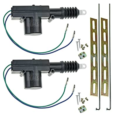 InstallGear Universal Car Power Door Lock Actuators 12-Volt Motor (2 Pack): Automotive