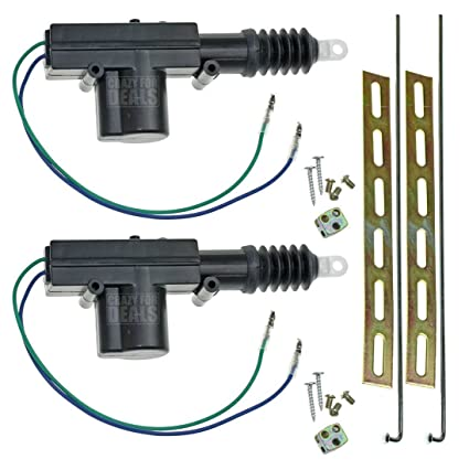 Amazon.com: InstallGear Universal Car Power Door Lock Actuators 12 on