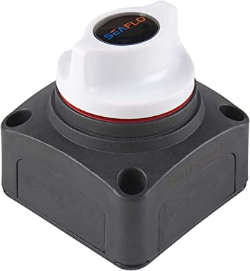 1 X Marine Boat Battery Power Disconnect Switch Heavy Duty Battery Isolator Switch seaflo