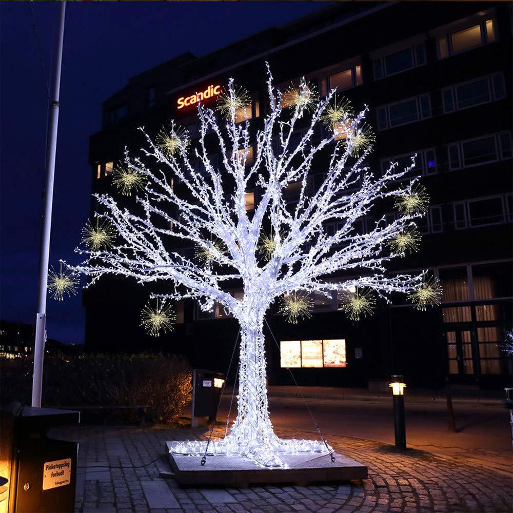 Kingko® 200 led lichterkette Feuerwerks-Lampe garten licht halloween ...