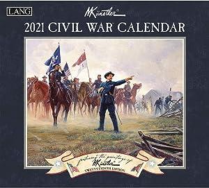 Lang Civil War 2021 Wall Calendar (21991001901)