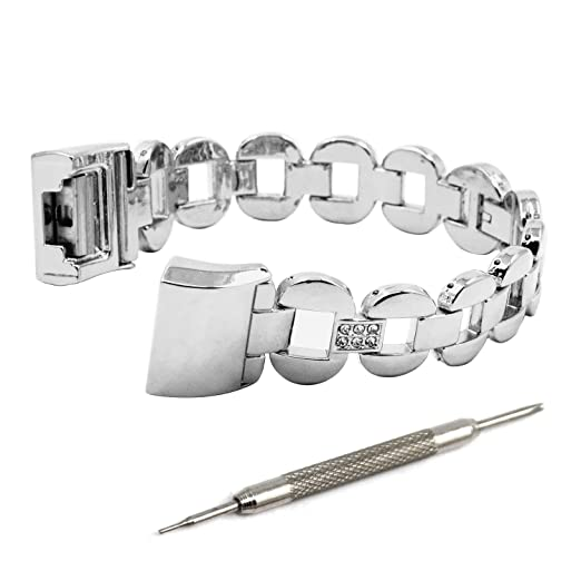 2 opinioni per Cinturino per Fitbit Charge 2, Satkago Cinturino bracciale in Acciaio Inox Band