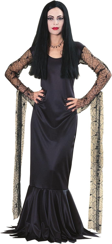 Rubbies - Disfraz de morticia para mujer, talla 8-10 (15526M ...