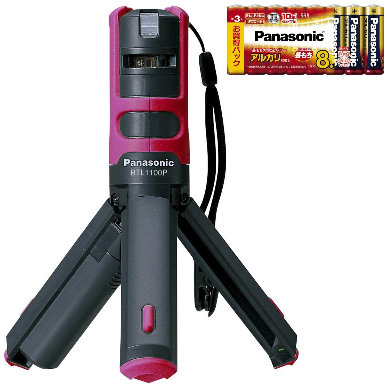 パナソニック(Panasonic) レーザーマーカー墨出し名人ケータイ 特別キット 限定品 ピンク BXTL1100P 限定品グリーンピンク 限定品グリーンピンク B01MT32ZYT