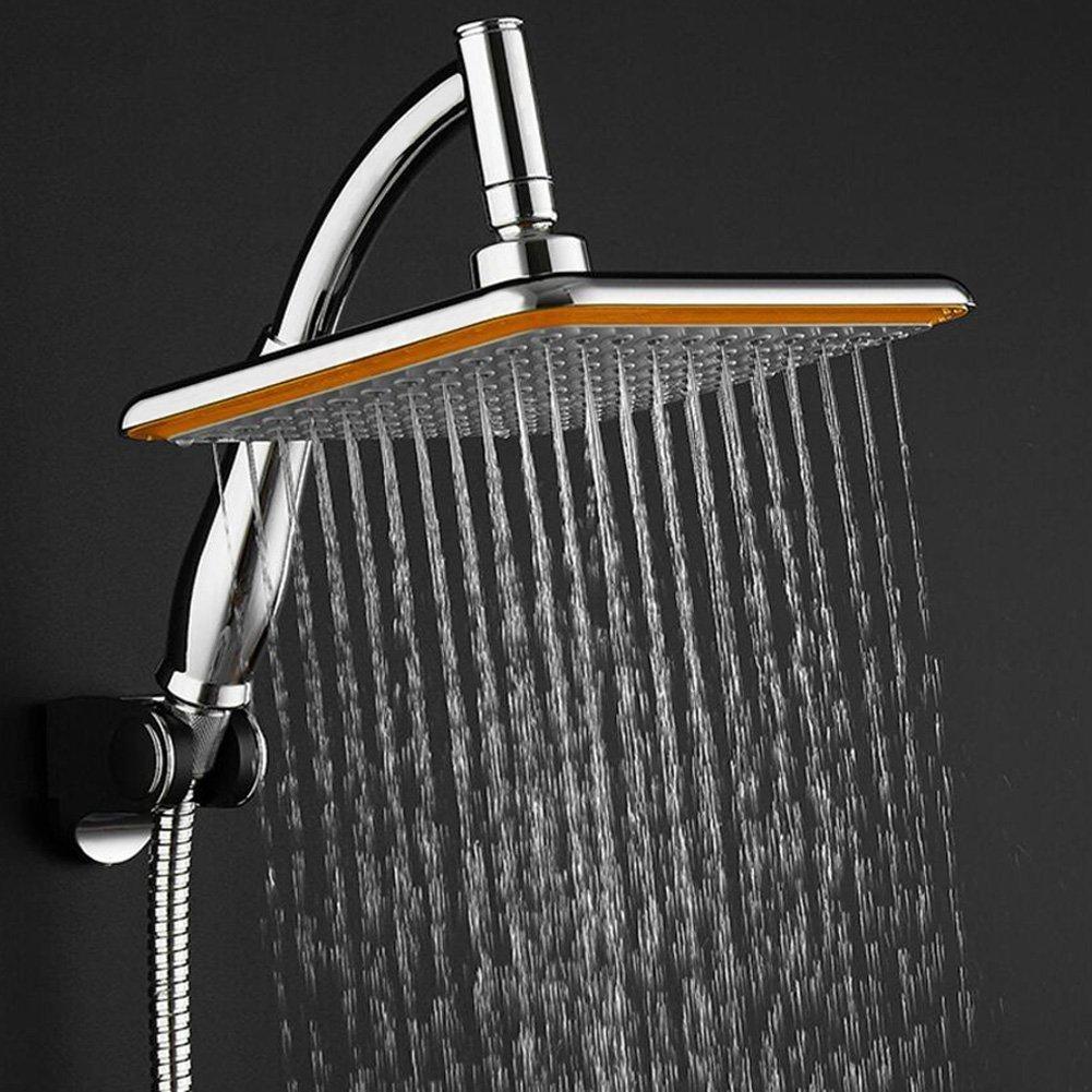 ahorro de agua de alta presi/ón sunyimi 9/Lluvia Ducha cabeza Paper24/Alcachofa de ducha con filtro de Articulaci/ón de 360/º Litio