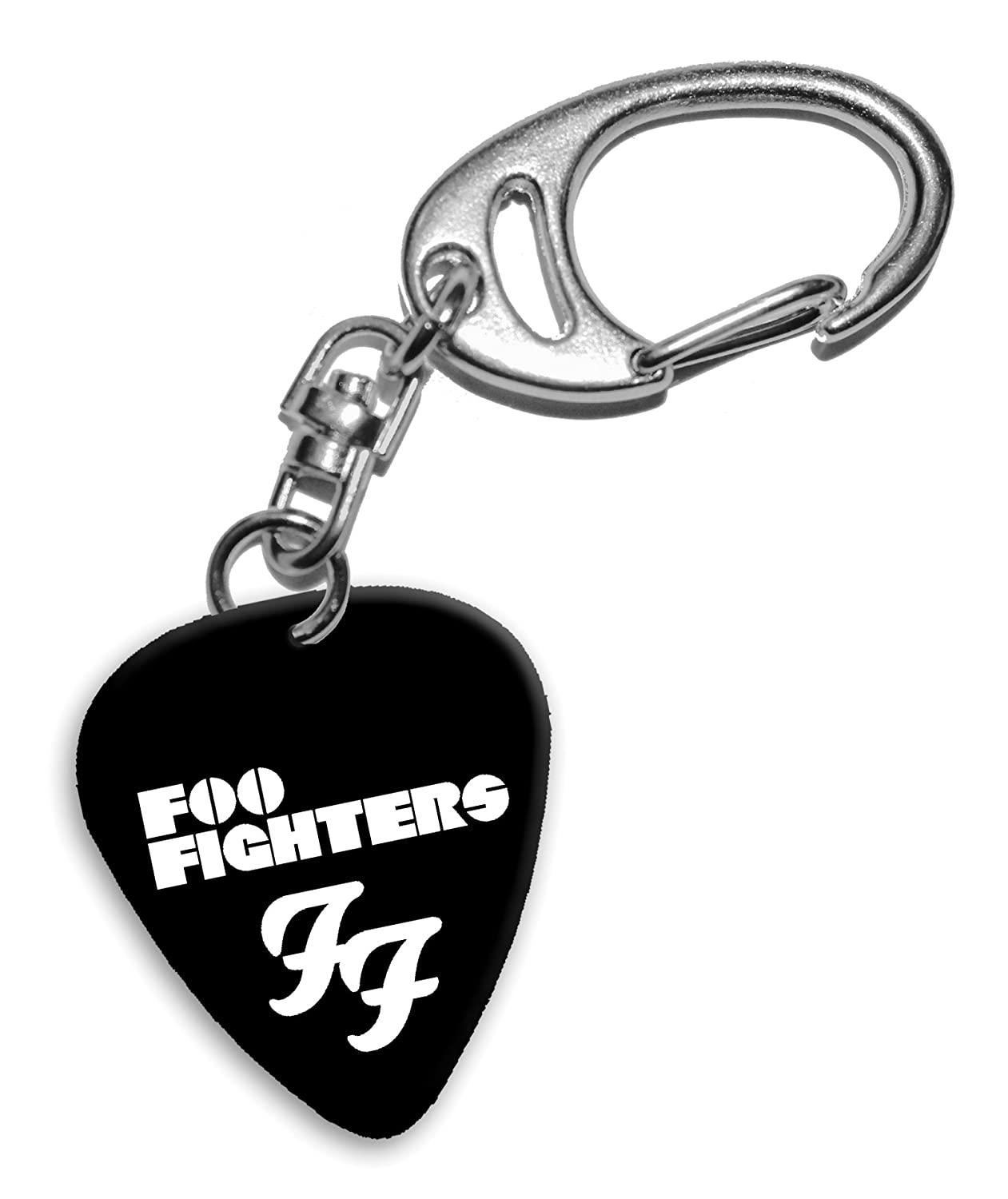 Foo Fighters Band Logo Portachiavi plettro chitarra (H) We Love Guitars