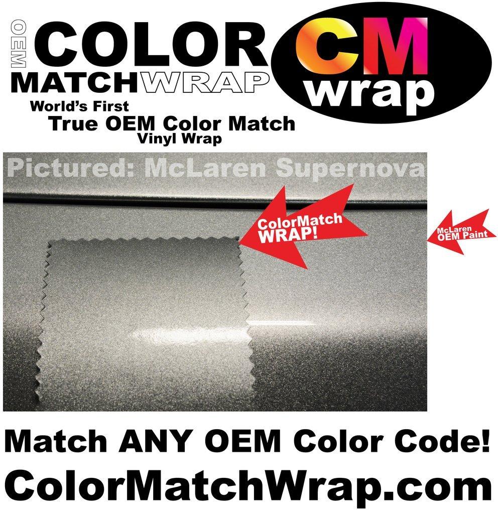 Color Match Wrap Oem Paint Code Matching Vinyl 57 Chevy Factory Colors 5 X 3 Automotive