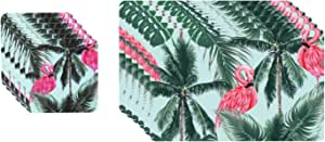 Wilson Paradise Placemats & Coasters - 12 Pieces
