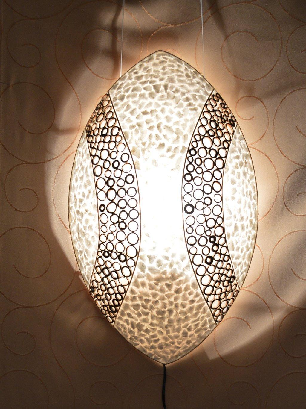 Schön Designer Wandleuchten Galerie Von Asiatische Bung (la12-117), Wandlampen, Stimmungsleuchten, Bali: Concept.de:
