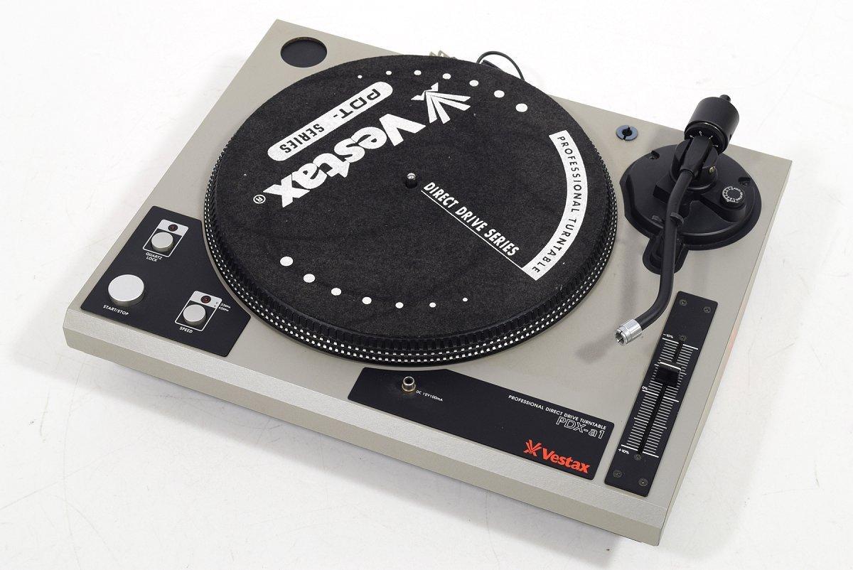 【中古】Vestax PDX-a1 ベスタクス DJ用ターンテーブルレコードプレーヤー B01EURY3LU
