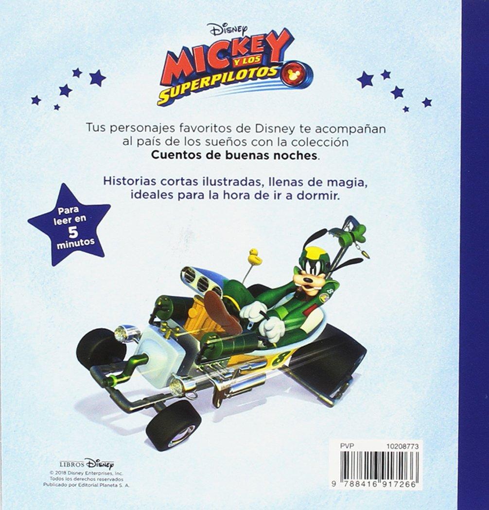 CUENTOS DE BUENAS NOCHES. MICKEY Y LOS SUPERPILOTOS (+3): Disney: 9788416917266: Amazon.com: Books