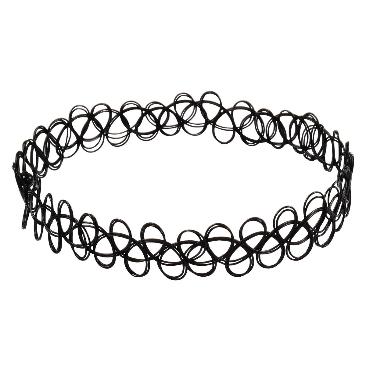 amazon jane stone choker black stretch gothic tattoo henna Sleeve by Lena Jewelry amazon jane stone choker black stretch gothic tattoo henna necklace fn1450 black jewelry