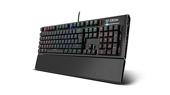 Krom Kempo - Teclado de Gaming, Color Negro: Krom: Amazon.es: Informática