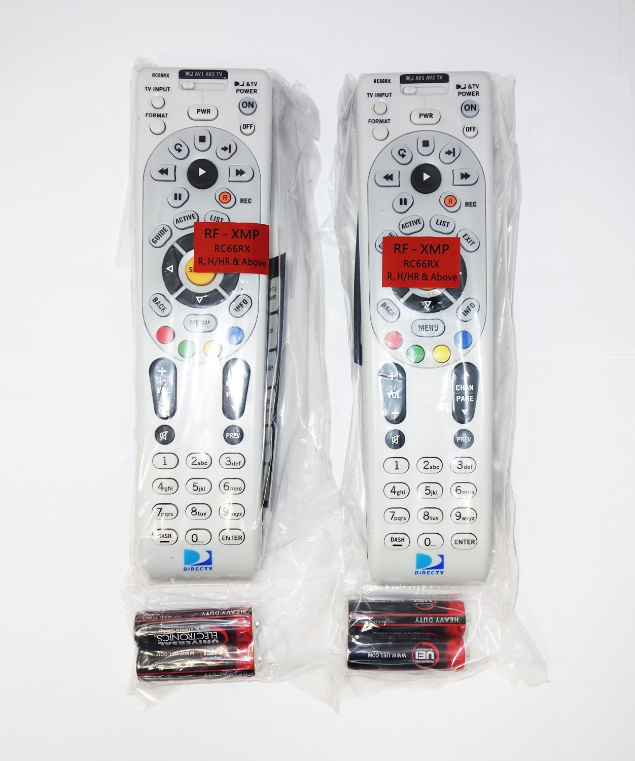 Amazon 2 pack directv ir rf universal remote control amazon 2 pack directv ir rf universal remote control rc66rx home audio theater sciox Gallery