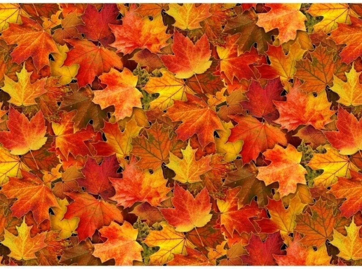 Landscape Medley~Birch Trees Floral Cotton Fabric by Elizabeth's Studio