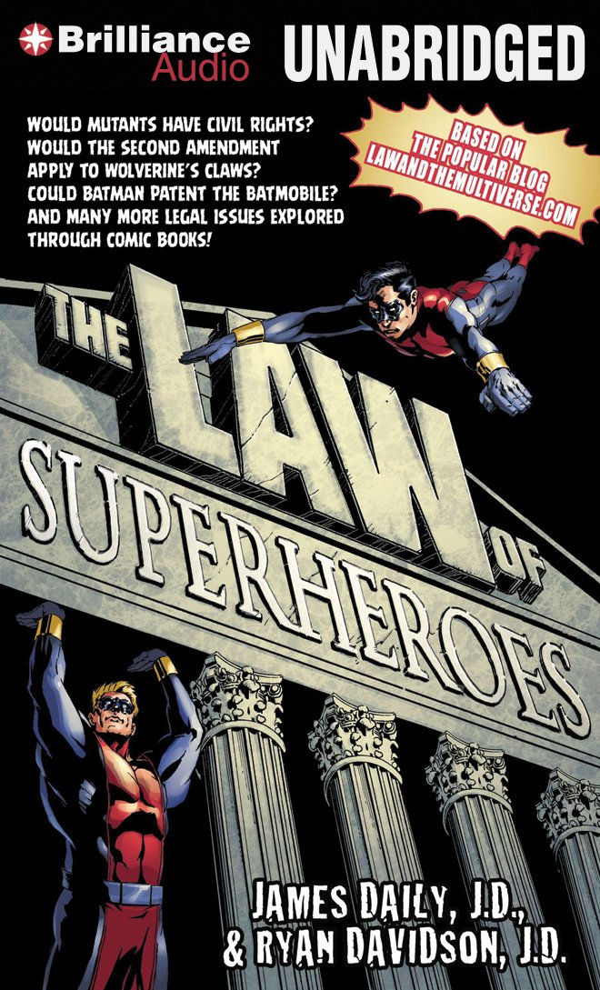 The Law of Superheroes by Brilliance Audio