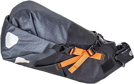 Ortlieb Alforja Tija Sillín Seat-Pack M Gris 11 Litros: Amazon.es ...