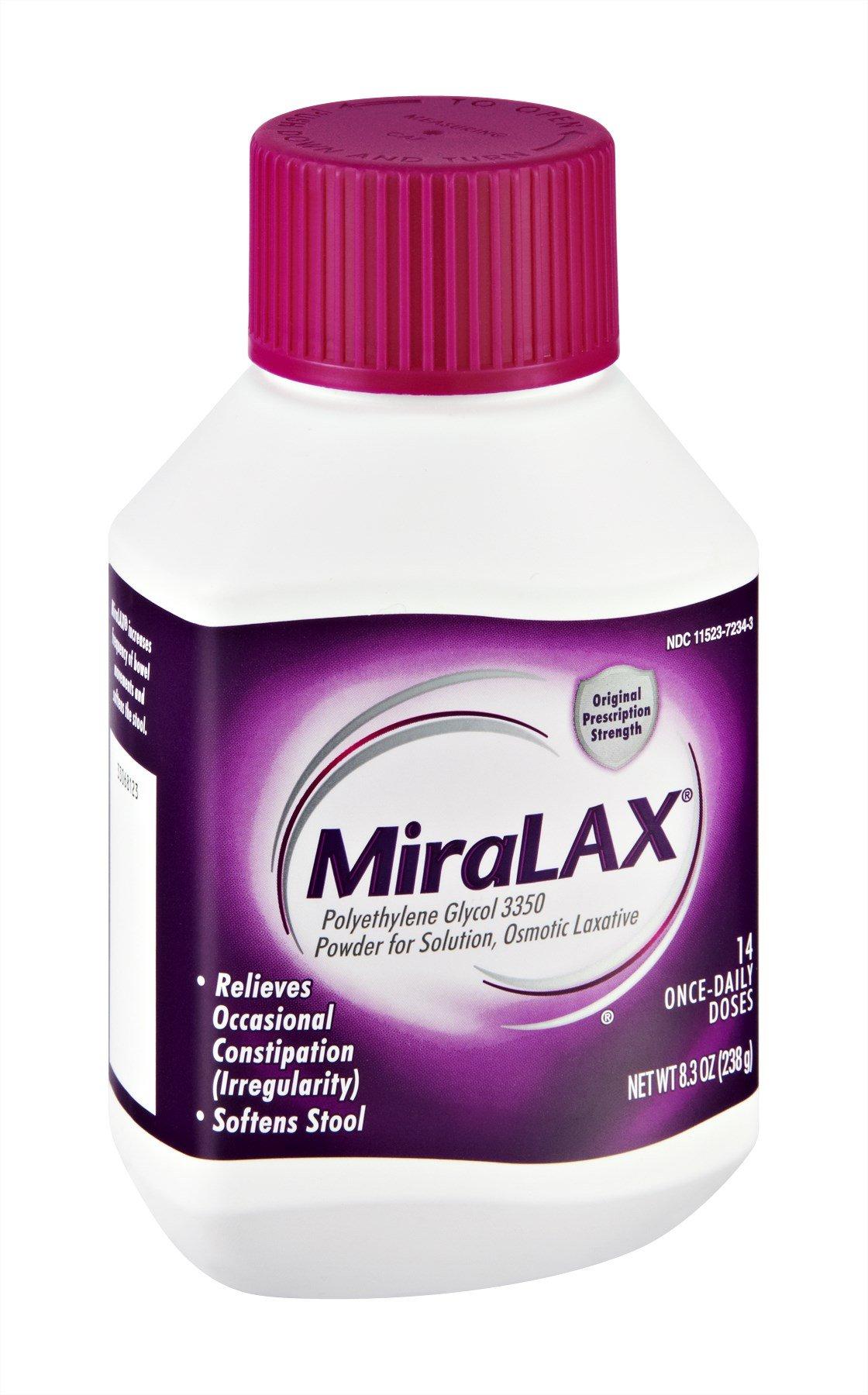 Miralax 14 Day 8.3 Oz