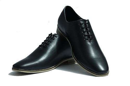 Xcordon Black Elegant One Piece Leather Shoe Buy Online At Low