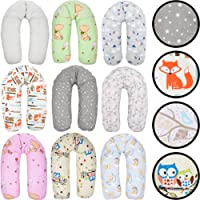 Stillkissen/Lagerungskissen / Seitenschläferkissen/Kissen mit bunten Motiven Baby Kind (160 cm)