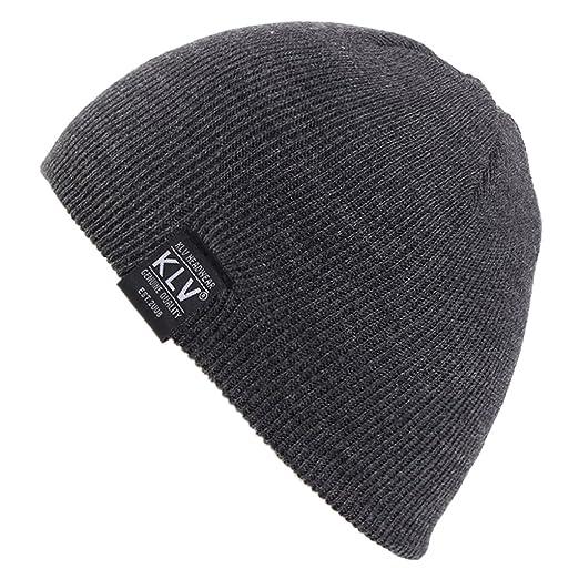 Amazon.com  Mimgo Kids children Boys Winter Hat Knit Beanie Hat Ears ... 7a61f8f2030d