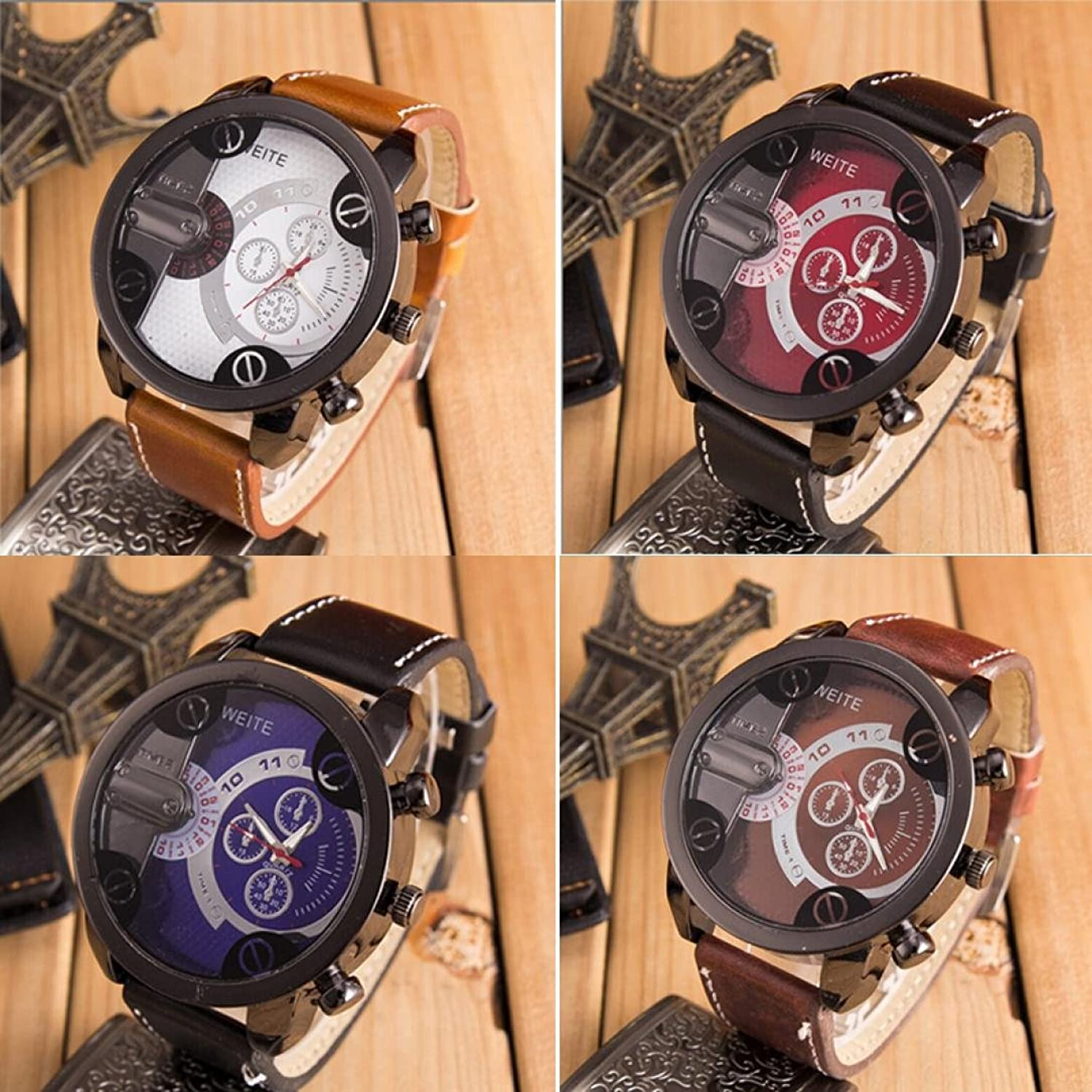 weite en watches watch lighter men flamless brown