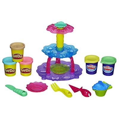 Play-Doh Sweet Shoppe Cupcake Tower: Toys & Games
