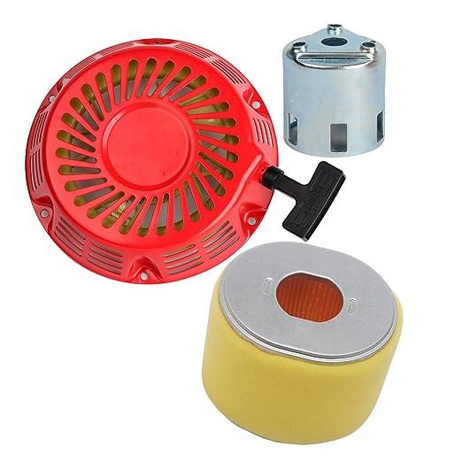 ouyfilters Filtro de aire con retroceso Tire de arranque para ...