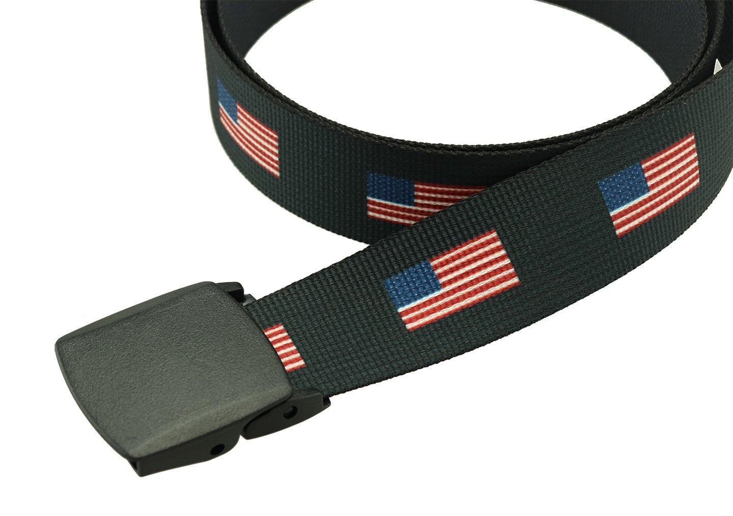American Flag Belt Made in the USA (Bulldog 1.5'' Width)